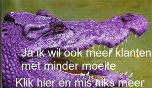 Paarse krokodil def incl tekst